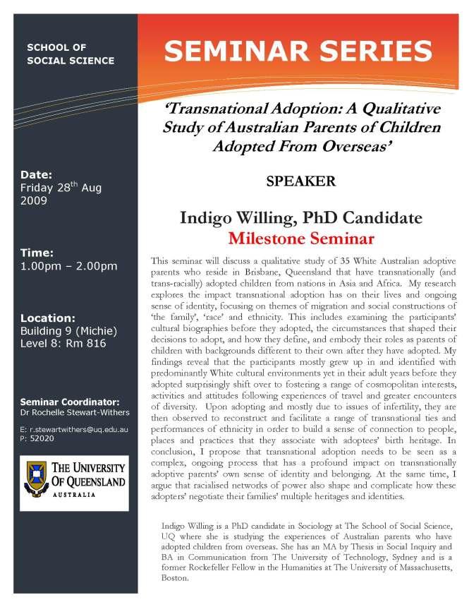 SoSS_Seminar_Series_PhD_Milestone_Presentation_Indigo_Willing